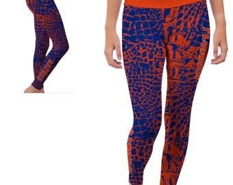 Florida UF Gators Yoga Pants Designs