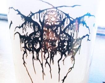 Darkthrone Black Metal Coffee Mug