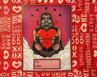 "King Diamond ""I Love You"" Valentine"