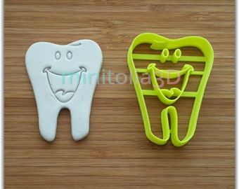 Smiley Tooth Cookie Cutter
