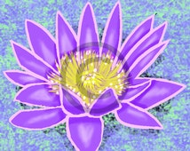 Water Lilly  (Lovely Flowers Collection)