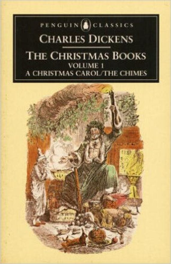 The Christmas Books: Volume One  A Christmas Carol and The Chimes