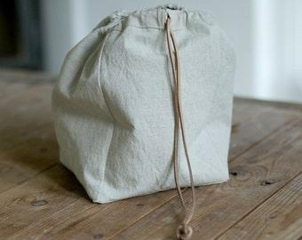 Bread basket, Linen bread basket, linen bag,