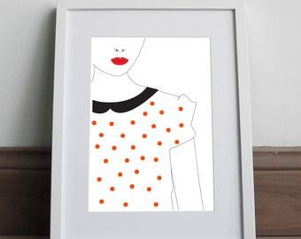 Indots - Art print