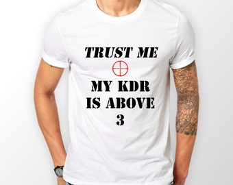 KDR, First person shooter, Tee shirt.