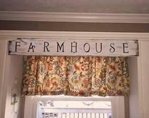 Farmhouse, Farmhouse Sign, Sign, Home Decor, Reclaimed Wood, Rustic, Dining Room, Distressed Sign, French Farmhouse, Wood Sign, Country Home