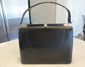 Vintage Black Purse Handbag