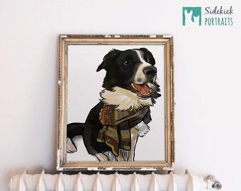 "Custom Pet Portrait - Regular Size - 12"""