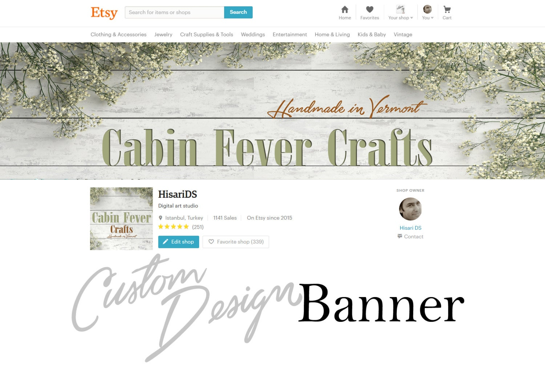 Design banner for etsy -  Zoom