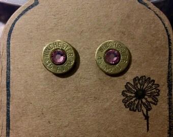 Bullet shell earrings