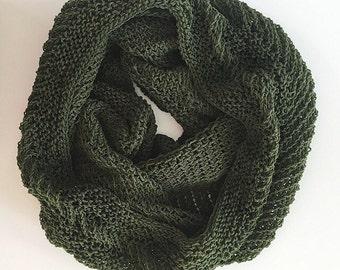 Hand Knit Cowl Pattern