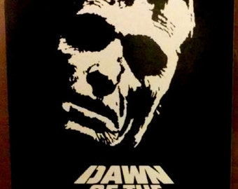 Dawn of the Dead ROGER STICKER - vinyl - Horror / zombies / George Romero