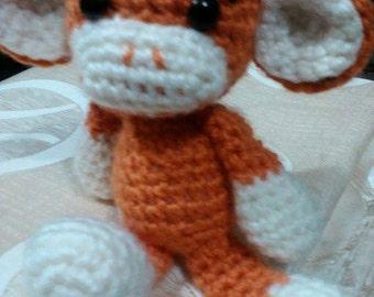 Handmade crocheted stuffed animal