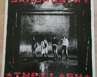 The Clash - Sandinista! - E3X-37037 - 1980 - Early US Pressing - NM!