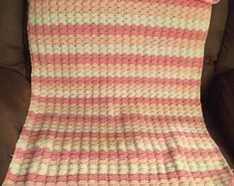 Multi colored child's blanket