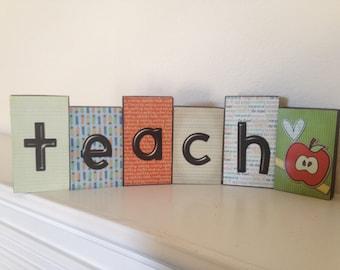 Teach Blocks