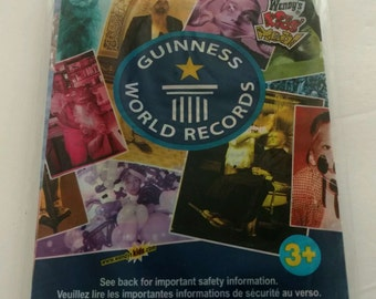Vintage 2005 Wendy's Guinness World Record Wendy's Meal Toy Personal Record Kit