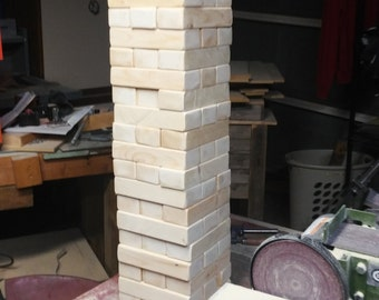 Giant Jenga Tumbling Blocks 2x3's -Ships in 1-3 Business Days!