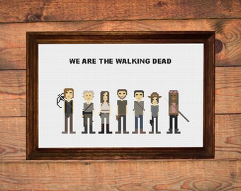 The Walking Dead cross-stitch (pdf pattern)