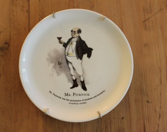 Mr Pickwick Plate with Hanger