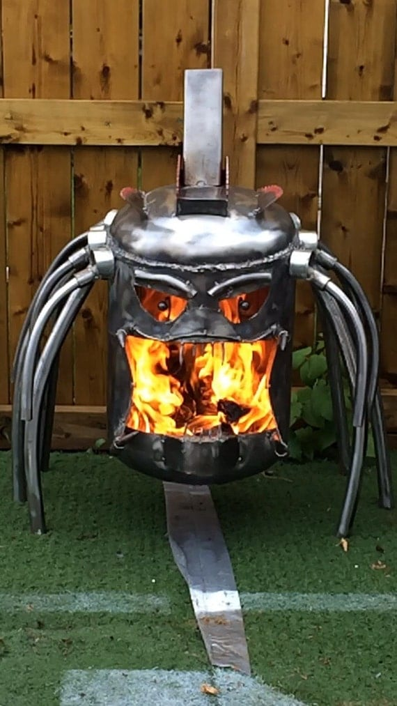 Items Similar To Predator Fire Pit Fire Box On Etsy