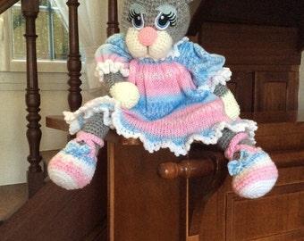 Cat crochet needle