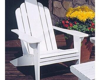 Colonial Adirondack Chair