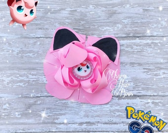 Jiggly Puff Hair bow pokemon go
