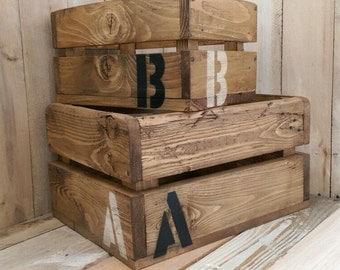 Handmade Wooden Nesting Boxes