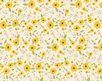Petit Potpourri Gold  - Joie de Vivre - HALF YARD - Art Gallery Fabric - Cotton Fabric - Quilting Fabric