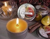 6 oz Travel Tin Candles-Spiced Pear 6 Pack