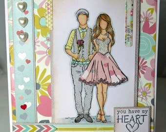Valentine's Day Handmade Card