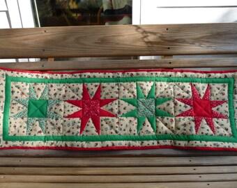"""Christmas Table Runner  38"""" x 12.5"""""""