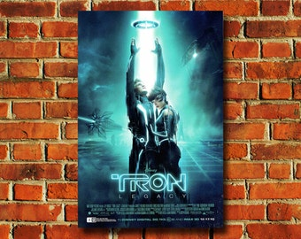 Disney Tron Movie Poster - #0725