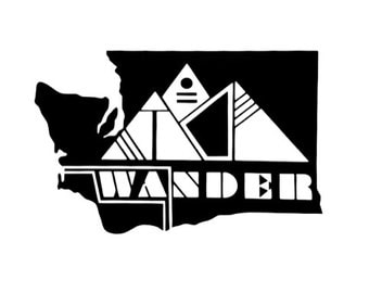 Washington Wander Vinyl Sticker
