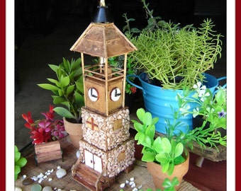 Fairy Garden Clock Tower