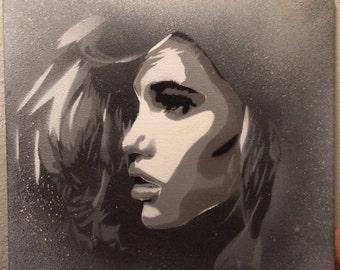 Meiden van Fris - Spray Paint on Canvas