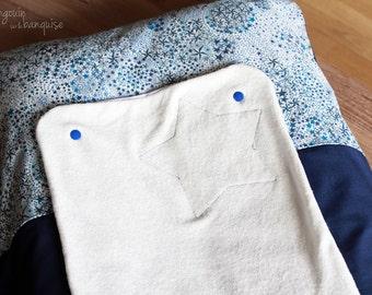 Changing mattress cover reversible - Liberty Adelajda