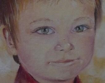 Custom Portrait, Pastel Portrait, Commissioned Portrait