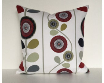 "Scandi Style Cushion Cover 16"" x 16""   Modern Throw Pillow"