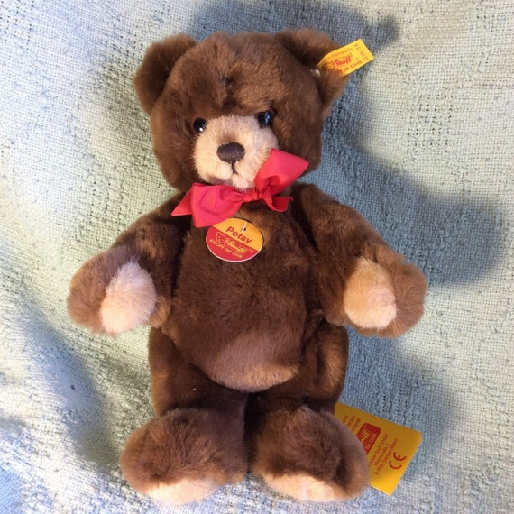 Vintage German Steiff Petsy Jointed Teddy Bear