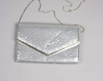 Silver 80s bag