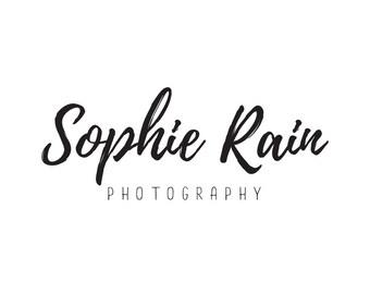 Premade logo photography logo design, business logo branding, script logo, boutique logo, jewelry logo brand, premade logo boutique,