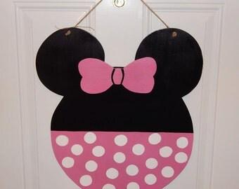 Mickey/Minnie Mouse Door Hanger