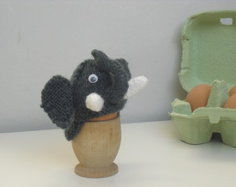 egg cosy, elephant