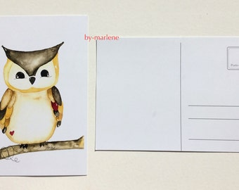Postcard 2 he set OWL