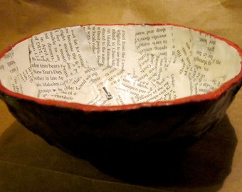 Decoupage Paper Bowl