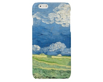 Van Gogh iPhone 7 iPhone 6 case Impressionism iPhone 6 sky iPhone 5 5S cover iPhone SE iPhone 4 4S case S7 Samsung Galaxy S4 S5 S6 hard case
