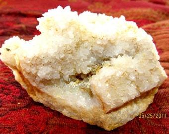 Druzy Milky Quartz Crystal Piece