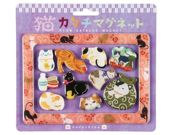 """Japanese Style Magnet """"Cat"""""""
